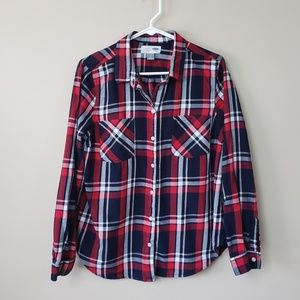 Old Navy Classic Fit Plaid Shirt